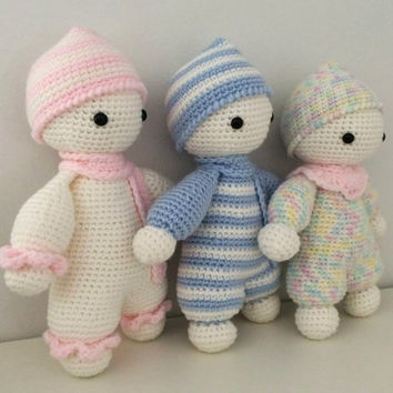 Amigurumi Toys For Babies : Cuddly babies doudou blankie toys jouet from ...