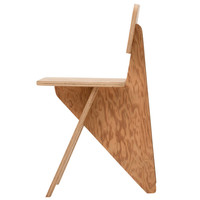 Michael Boyd Wedge Series Arrowhead Side Chair