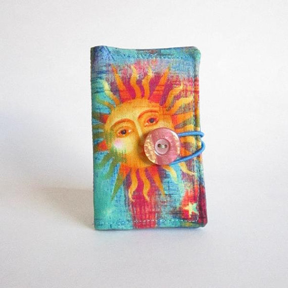 Business Card, Gift Card, Credit Card, License Holder Sun and Moon