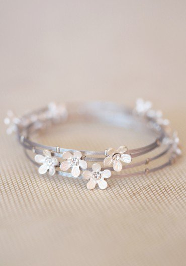 floral interlude bracelets at ShopRuche.com