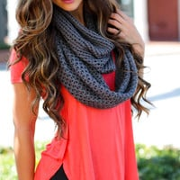 Everything But Basic Gray Scarf - One