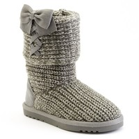 Jumping Beans Grey Toddler Girls' Sweater Boots