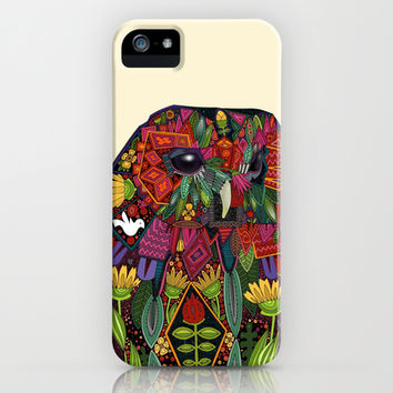 tawny owl cream iPhone & iPod Case by Sharon Turner | Society6