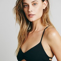 L Space Womens Wild One Top - Black