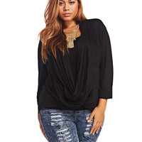 Wrap Front Top | Wet Seal+