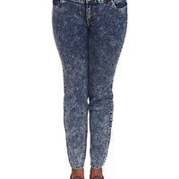 Acid Wash Skinny Jean | Wet Seal+