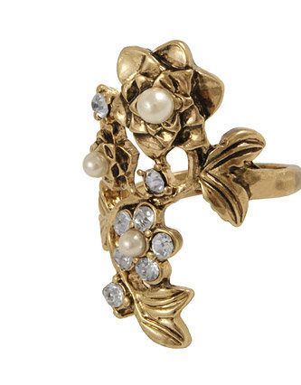 Miso Climbing Rose Ring from just £5.00 - Jewellery from Republic: great styles and great prices.