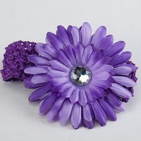 Purple Baby Flower Headband