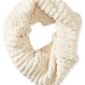 Aeropostale Cozy Funnel Scarf - Cream, One