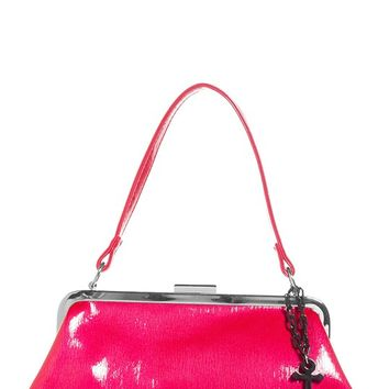 Betsy Anchor Charm Purse in Raspberry | Blame Betty