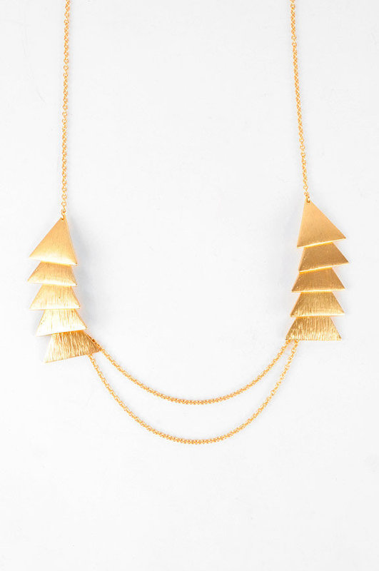 Tri-Tip Arrowhead Necklace