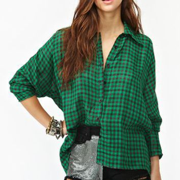 Teen Spirit Plaid Shirt
