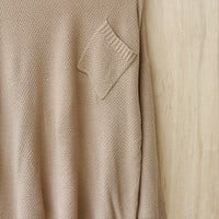 Savvy Shopper Sweater, Taupe