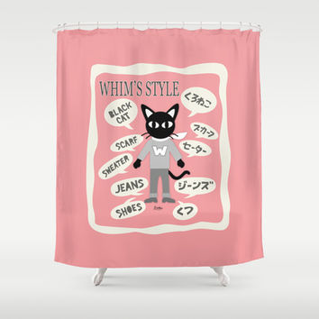 Whim's Style Shower Curtain by BATKEI