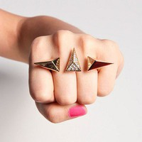 Giza Double Finger Ring
