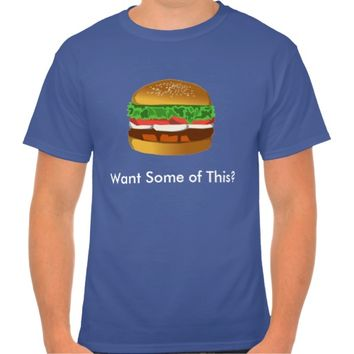 Burger T-Shirt for Guys