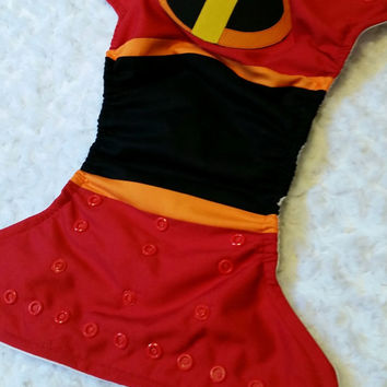 Incredibles Cloth Diaper Cover or Pocket Diaper - One-Size or Newborn, S, M, L