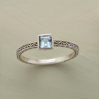 Blue Topaz Wave Ring | Robert Redford's Sundance Catalog
