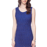 Ella Crochet Tank Dress