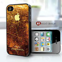 cases for the iphone 4  iphone 4s case black iphone 4 cover colorized rust metal image case design