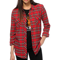 Empyre Red Flannel Shirt