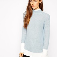 ASOS Sweater With Double Layers