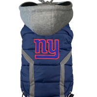 NFL Team Pet Puffer Vest - Giants