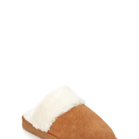 FOREVER 21 Genuine Suede Slippers