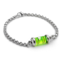 LEVEL BRACELET | LeeAnn Herreid Level Bracelet Combines Authentic Carpenter Tool with Silver Chain to Balance Classic and Quirky | UncommonGoods
