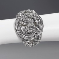 3 Linked Circles Bangle Bracelet