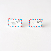 Little Envelopes Stud Earrings - Made To Order