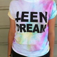 "Unisex Tie-Dye ""TEEN DREAM"" T-shirt"