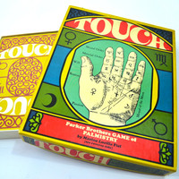RARE - Vintage Touch Game, Tarot Card Game, Parker Brothers Game of Palmistry, Maxine Lucille Fiel