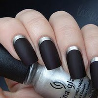 lacquerized. - a blog about nail polish: Ruffian Inspired Manicure &amp; The most awesome gift