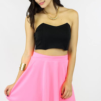 Back Out Crop Top @ LushFox.com :: Current Fashion Trends & Styles
