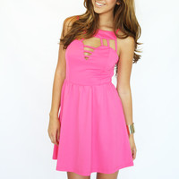 Pink Crush Dress @ LushFox.com :: Current Fashion Trends & Styles