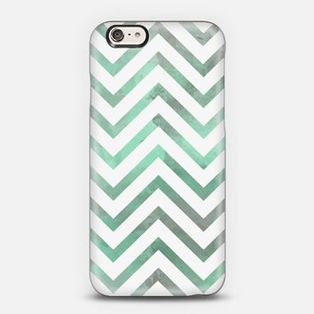 Mint White Chevron iPhone 5s case by Organic Saturation | Casetify