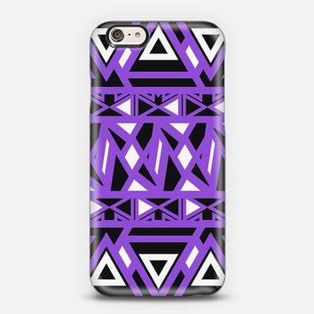 Purple Bold Tribal iPhone 5s case by Organic Saturation | Casetify