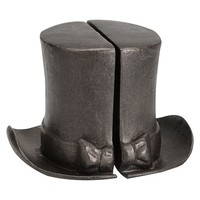 The Emily + Meritt Circus Top Hat Bookends