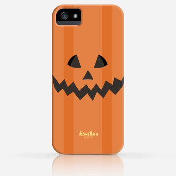 Halloween Pumpkin Face iPhone 4/4s iPhone 5/5s Case