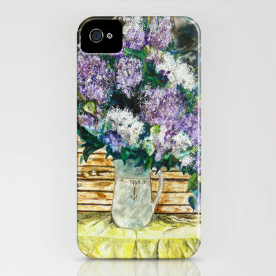 Lilacs iPhone Case by Vargamari | Society6