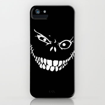 Crazy Monster Grin iPhone & iPod Case by Nicklas Gustafsson