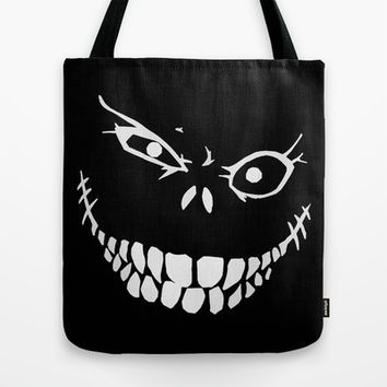 Crazy Monster Grin Tote Bag by Nicklas Gustafsson