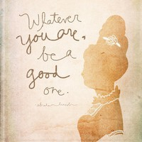 Whatever You Are Be A Good One NEW by vol25 on Etsy