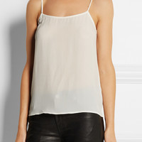 Equipment - Cara washed-silk camisole