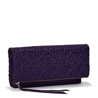 Amethyst Gabriel Fold Over Clutch