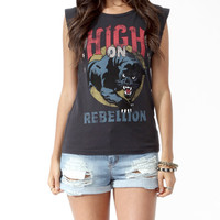 Distressed Jaguar Graphic Tee
