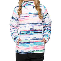 Roxy Jetty 3N1 Scenic Stripes 10K Snowboard Jacket
