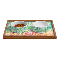 Laura Trevey Cool To Warm Pet Bowl and Tray