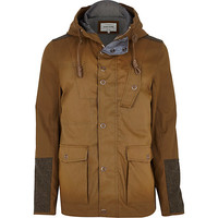 Tan casual jacket